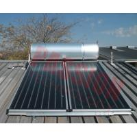 China Pressurized Flat Plate Solar Water Heater Rooftop Intelligent Controller High Efficient on sale