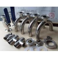 Quality 1/2 Inch - 8 Inch Stainless Steel Pipe Fittings Sanitary Elbow , Bend , Tee , Reducer,3A,SMS,DIN for sale