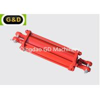China Double Acting 3000PSI Tie Rod Type Hydraulic Cylinder Used On Lawn Mowers wholesale