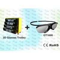 China HD Active Shutter 3D Video Glasses with Trolley wholesale