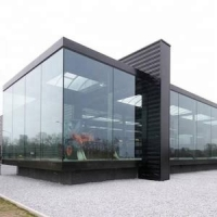 China Anti-impact high end aluminium three track lift and sliding door with self-clean double glass wholesale