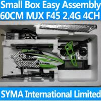 China Small Box Largest 70cm 4CH 2.4GHz MJX F45 1500mAh Gyro Video Camera Remote Control RC Helicopter Metal LED wholesale