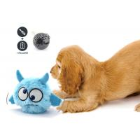 China Blue Color Jumping Dog Toy Randomly Rolling Pet Toy Ball For Entertainment wholesale