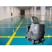 China Cleaning Company Washer Scrubber Dryer Machines , Hard Ground Walk Behind Floor Scrubbers wholesale
