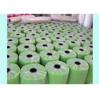 China Spunbond Green PP Non Woven Fabric Rolls For Biodegradable Furniture wholesale