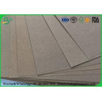 China 80gsm 120gsm 150gsm Test Liner Paper , Brown Corrugated Paper For Carton Box on sale