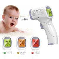 China Gun Type 32 Memories ±0.2℃ Non Contact Forehead Thermometer wholesale