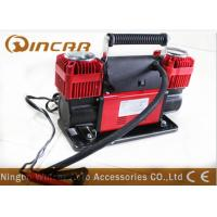 China New 150PSI 12 V Car Air Compressor Double 60mm Cylinder 300L/ Min Air Flow wholesale