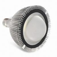China 15W LED Spotlight Bulb with 110 or 220V AC Voltage and Copper-plated Nickel Base wholesale