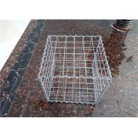 China Heavy Zinc Sprial Welded Mesh Gabion Retaining Wall For Soil Erosion wholesale