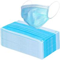 China 17.5*9.5cm Compact 3 Ply Surgical Mask , Disposable Pollution Mask For Personal Safety wholesale