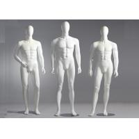 China Fiberglass Male Standing / Seating Full Body Mannequin For Clothes Shop wholesale