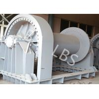 China Shipyard Low Noise Heavy Industry Windlass Winch With Smooth Drum wholesale