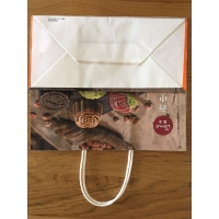 China twisted handle paper bags wholesale