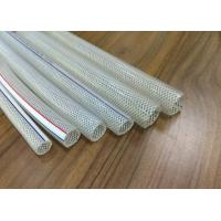 China Colorful Crystal PVC Braided Hose Pipe Tube Anti Abrasion For Transport Water wholesale