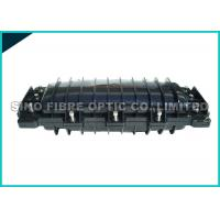 China Mid - Plate Fusion Splicing Fiber Optic Closure 72 Core ABS Housing on sale