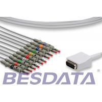 Quality Nihon Kohden Cardiofax EKG ECG Cables And Leadwires 10 Leads / 12 - Channel for sale