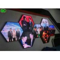 China P3.9 Shape Video Curtain LED Display screen for Advertising , High Resolution wholesale