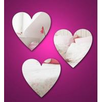 China Heart Shape Cosmetic Acrylic Mirror Sheets With High Quality wholesale
