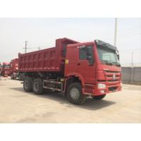 China 16m³ 6x4 336hp HOWO Heavy Duty Dump Truck For Transporting Soil / Sand wholesale