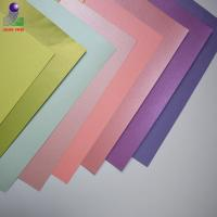 China Best popular color custom Pearlescent cardstock paper on sale