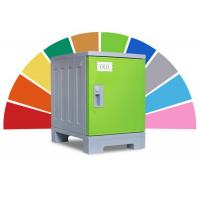 China Oem Size Abs Plastic Locker Non - Toxic Material For Water Park School Students on sale