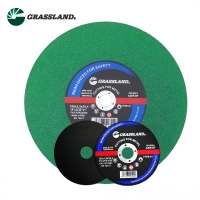 China Grit 60 Grassland 125 X 2.0 X 22.2mm Stainless Steel Grinder Disc wholesale