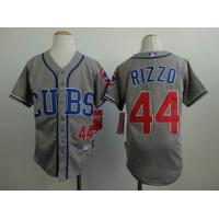China MLB Chicago Cubs 44# Rizzo grey jersey cheap wholesale source wholesale