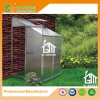 China Sliver Color Wall Lean-to 4mm PC Aluminum Greenhouse - 4