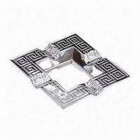 China Antique Imitation Craft/Ashtray, Made of Zinc Alloy/Pewter Materials, Customized Designs are Welcome  on sale