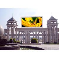 China Highest Effective LED Advertising Screen , Outdoor LED Video Display 8mm Pixel Pitch wholesale