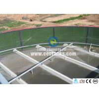 China Water Storage Glass Fused Steel Tanks with ANSI / AWWA D103 Standard wholesale