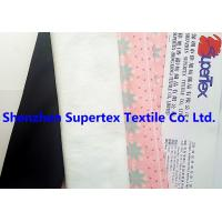 China 320GSM Elastic Stretch Fabric Knit Polyester Suede Printed 147CM Garment Fabric wholesale