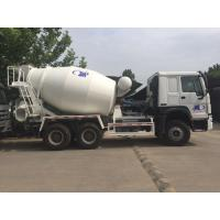 China 6×4 336hp Concrete Mixer Truck / Mini Cement Truck With Heavy Loading Capacity wholesale