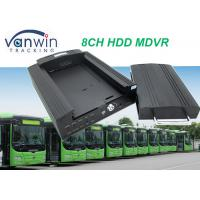 China 4G GPS Wifi 8ch vehicle DVR / NVR for Taxi School Bus Car Truck solution wholesale