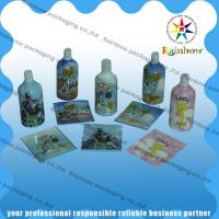 China Colored Printing Shrink Sleeve Labels 40 - 60 Micron For Plastic Bottles wholesale