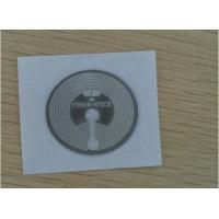 China ISO15693 13.56MHz 15*15mm Smart Card Inlay / PET Wet Inlay Sheet For RFID Tags wholesale