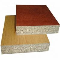 China 1220*2440mm Size Melamine Faced Chipboard Non Toxic Poplar / Pine Material wholesale