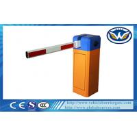 China 6S / 3S  Single Straight Boom Car Park Security Barriers With Fan Colling Machine wholesale