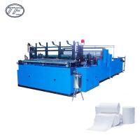 China Towel roll manufacturing rewinding cutting automatic toilet paper production line making machine wholesale