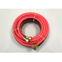 Buy cheap Red PVC Air Hose / Oxy Acetylene Double Welding Pipe Tube With Connector from wholesalers