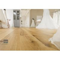 Bespoke 20/6 x 300 x 2200mm ABC grade Oak Engineered Flooring for Royal Wedding Dress Pavilion in UK
