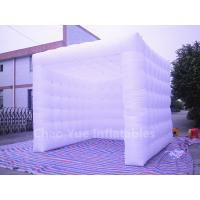 Quality White Oxford Cloth Inflatable Cube Tent for sale for sale