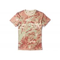 China 100% Cotton Camouflage Camo Air Force T Shirts , Police Department T Shirts on sale