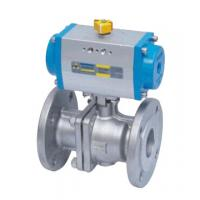 China Double Acting Actutator Stainless Steel Flanged Ball Valve wholesale