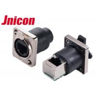 China IP44 IP65 Waterproof Data Connector , PowerCon Connector Straight & 90 Degree Panel wholesale