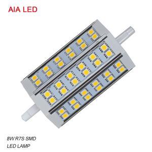 China LED-R7S-8025 AC85-265V 8W 5050 SMD LED R7S LED Lamp/ LED bulb for IP65 waterproof led flood light wholesale