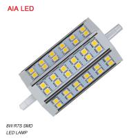 China LED-R7S-8025 AC85-265V 8W 5050 SMD LED R7S LED Lamp/ LED bulb for IP65 waterproof led flood light wholesale