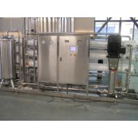 China RO UV Pure Water Treatment Line / System 1T-30T For Pharmaceutical Or Industrial wholesale