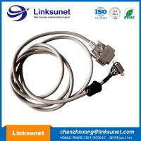 China D - SUB 15 PIN Male Female Soldering Wiring Harness LIYY 14 - 0.25 PG11 Customized wholesale